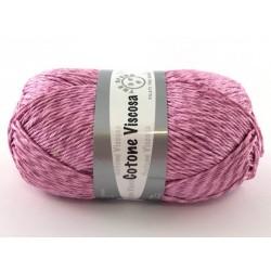 Cotone viscosa col.rosa