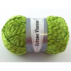 Cotone viscosa col.verde