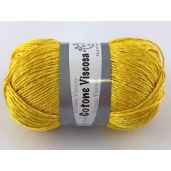Cotone viscosa col.giallo