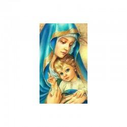 Schema Madonna con bambino