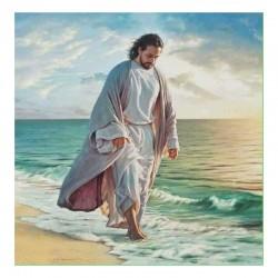 Schema Gesù in riva al mare