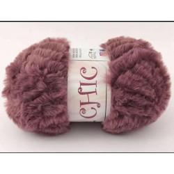 CHIC pelliccia rosa antico