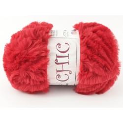 CHIC pelliccia rosso