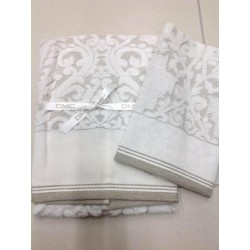 Coppia asciugamani DMC