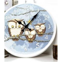 Kit orologio gufetti