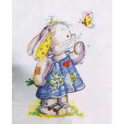 Copertina con coniglietta
