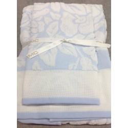Asciugamani DMC celeste